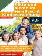 Konflikte und Probleme im Familienalltag & Kindererziehung - Leseprobe