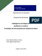 Memoria-Inteligencia de Negocio- Auditoria y Control