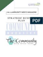 The Community Mens Magazine