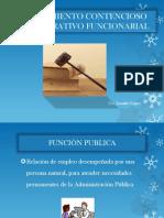 Procedimiento Contencioso Administrativo Funcionarial[1]