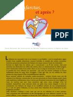 infarctul miocardic, brosura in limba franceza