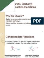 Reaksi Kondensasi Karbonil