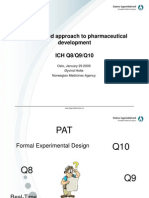2.7 a Risk-based Approach to Pharmaceutical Development