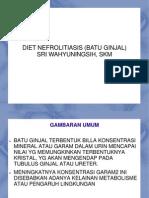 Diet Nefrolitiasi