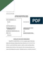 Wag Acquisition v. Gattyan \Group S.A.R.1 et. al.