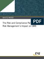 Risk Paradigm