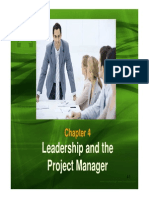 Leadership and the Project Manager