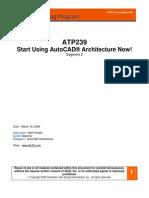 Autocad Architecture Segment 2