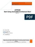 Autocad Architecture Segment 1