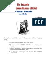 Un Fraude en La Enseñanza Oficial Del Idioma Mapuche en Chile - Aukanaw