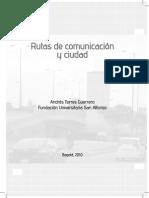 Rutas de Comunicacion y Ciudad