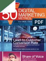 50 Digital Marketing Metrics