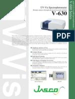 V630 Specification