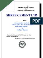 shree cement marketing