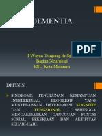 Dementia Unizar