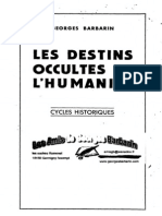Barbarin Georges - Les Destins Occultes de l Humanite