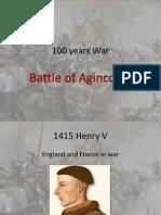 100 years warbattleagincourt