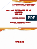 Uni Gestion Integral de Lacalidad Intoduccion
