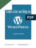 Criar Blog - Word Press Platform
