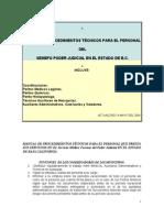 Manual de Procedimientos Semefo b.c.2004.2