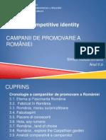 C. Promovare a României