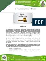 4. Introducción a La Legislación Ambiental en Colombia