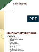 5.Respiratory Distress Dental Lecture