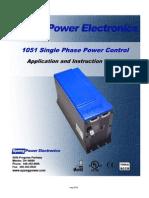 1051 Series Product Manual - English