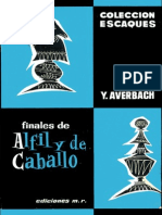 Finales de Alfil y de Caballo - Yuri Averbach
