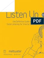 Listen Up The Difinitive Guide to Social Listening for Smarter Business