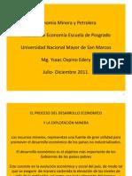 Economía Minera y Petrolera Diapositivas