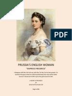 Prussia's English Woman - Empress Frederick