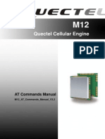Quectel M12 at Commands Manual V3 2
