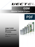 Quectel GSM TCPIP Recommended Process V1.1