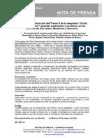 NP 037-14 Se Inicia La Construcción Del Tramo II de La Megaobra Costa Verde Para Todos-puentes Peatonales y Escaleras en San Isidro Miraflores y Ba
