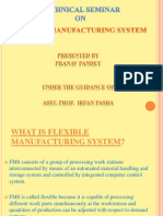 Flexible manufacturing system Seminar Report