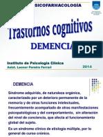 Trastornos Cognitivos- Demencia