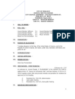City Council Agenda for May 8