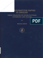 Bezalel Porten -The Elephantine Papyri in English