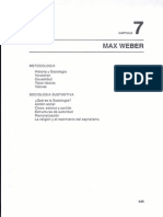 Capitulo 7 Max Weber