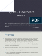 Healthcare Karthik R IIM Indore