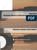 River Pollution Saloni Gupta XLRI