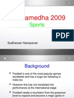 Sports Sudharsan Narayanan IIM Indore