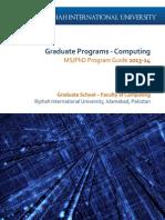 Riphah University ProgramGuide