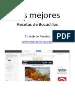 Web Recetaycocina Las Mejores Recetas de Bocadillos