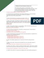 CCNA Exploration 2 - Module 5 Exam Answers Version 4.0