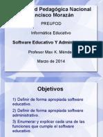 Software Educativo Y Administrativo