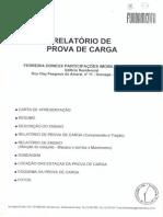 RELATORIO DE PROVA DE CARGA - FERREIRA DONEUX PARTICIPACOES IMOBILIARIAS LTDA - Edificio Recidencial  -  Rua Clay Pesgrav~1
