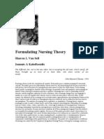 Formulating Nursing Theory