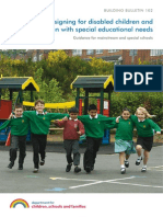 Designing for Disabled Children & Children With Special Education Needs